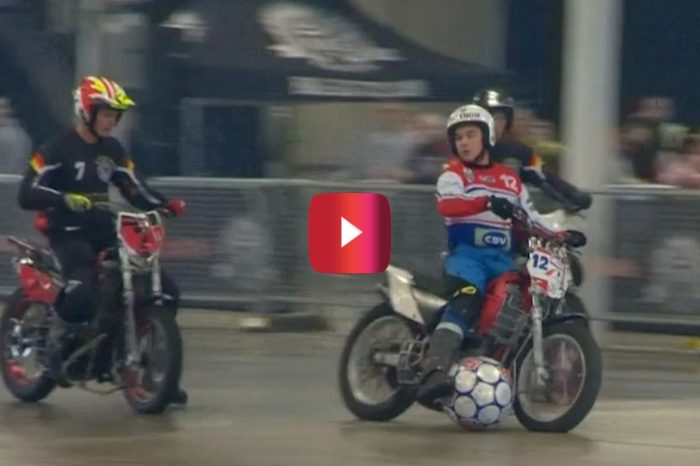 Soccer on Motorcycles Is About to Be Your New Favorite Sport