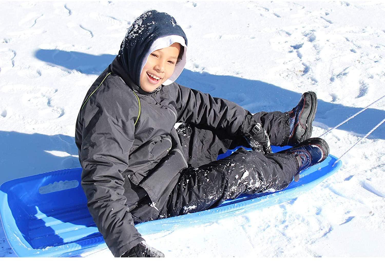 snow sled slippery racer