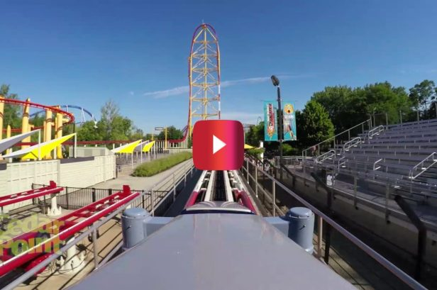 Dragster-Themed Roller Coaster Goes From 0-120 MPH in Under 4 Seconds