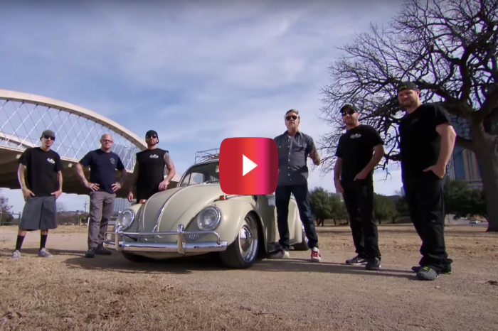 "'65 VW Beetle Gets 200-HP Upgrade on ""Fast N' Loud"""