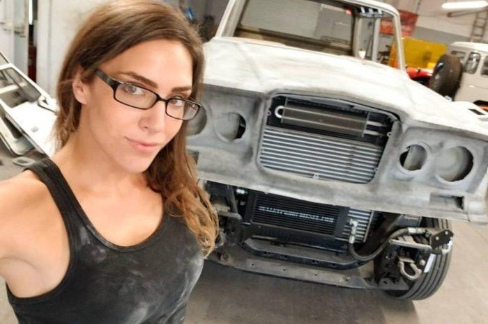 "Cheyenne Ruether: The ""Vegas Rat Rods"" Star Keeps Busy as an Auto Body Tech"