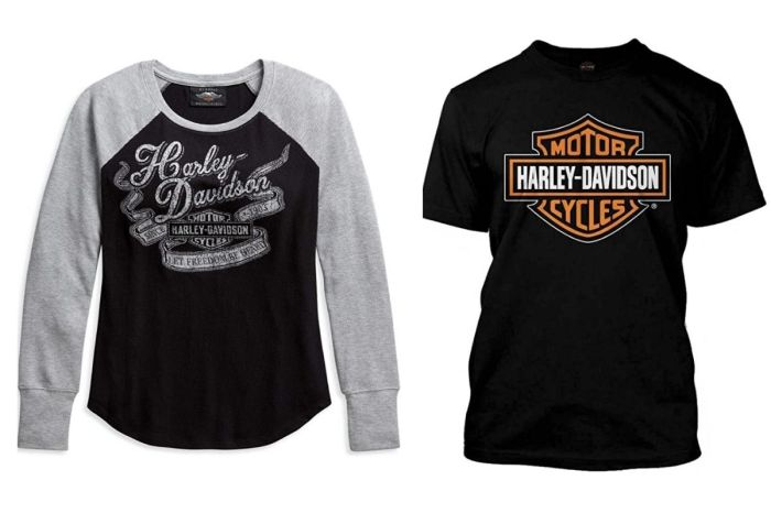 Step Up Your Wardrobe With New Harley-Davidson T-Shirts