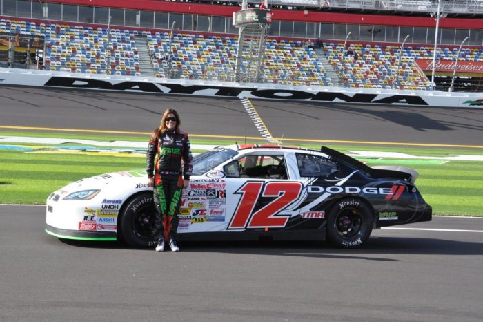Maryeve Dufault Uses Her Modeling Money to Fund Her Racing Career