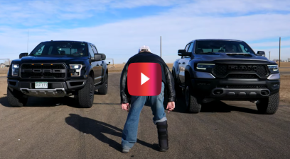 Ram TRX vs. Ford F-150 Raptor