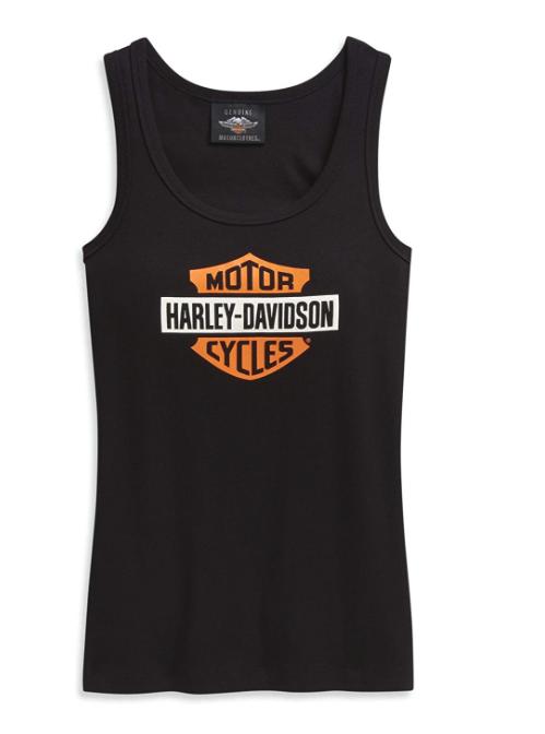 Harley-Davidson Women's Logo Ribbed Tank