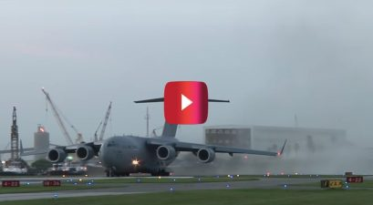 c17 landing at wrong airport