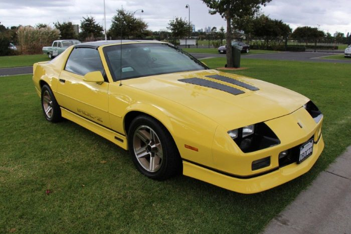 The Camaro IROC-Z Is a Certified Classic With a Racing Past