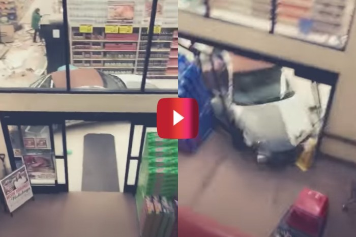 Man Crashes Through Grocery Store and Faces Laundry List of Charges