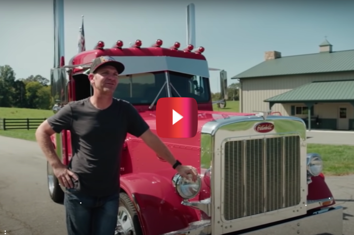 Clint Bowyer Sure Is Proud of His Custom '79 Peterbilt Pickup