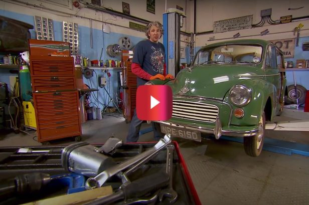 "Edd China Restores Classic Morris Minor on ""Wheeler Dealers"""
