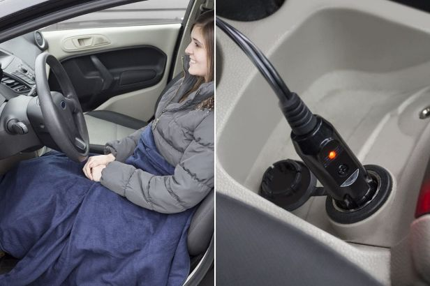 Heated Car Blankets Keep Drivers Warm and Cozy