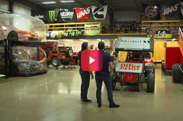 Tony Stewart Gives Jeff Gordon a Tour of His Crazy Car Collection
