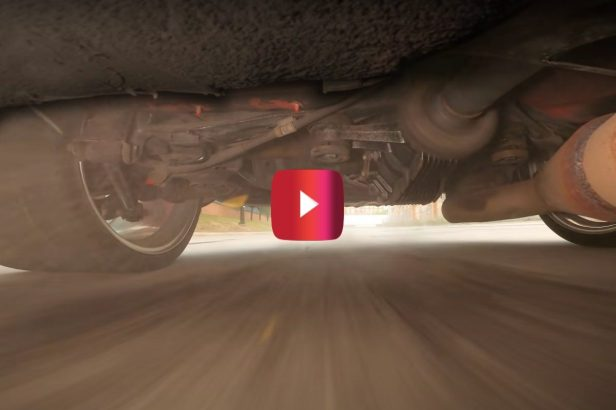 Here's What Happens Underneath a Drifting Toyota Supra