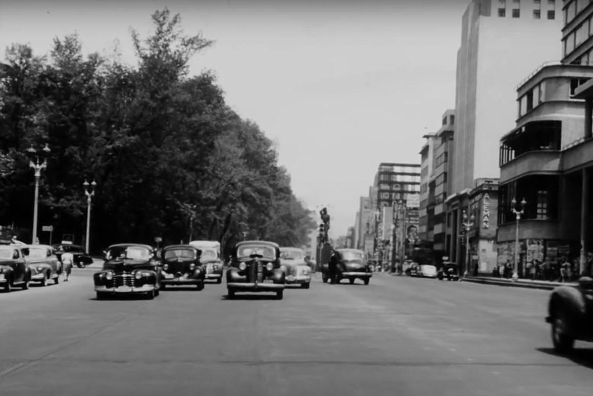 1940s traffic footage