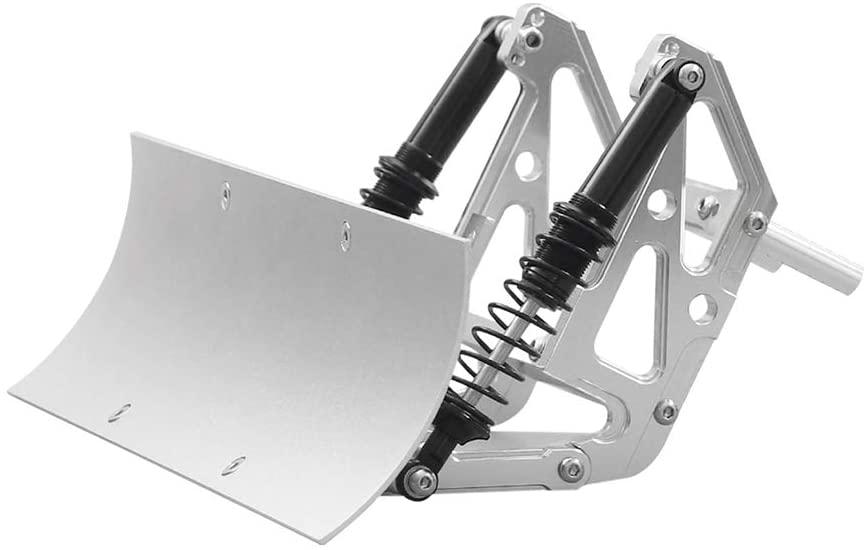 FIMONDA RC Car Blade Snow Plow Metal Snow Shovel for 1/10 RC Crawler Traxxas TRX4 TRX6 Axial SCX10 90046 03007 RGT 86100