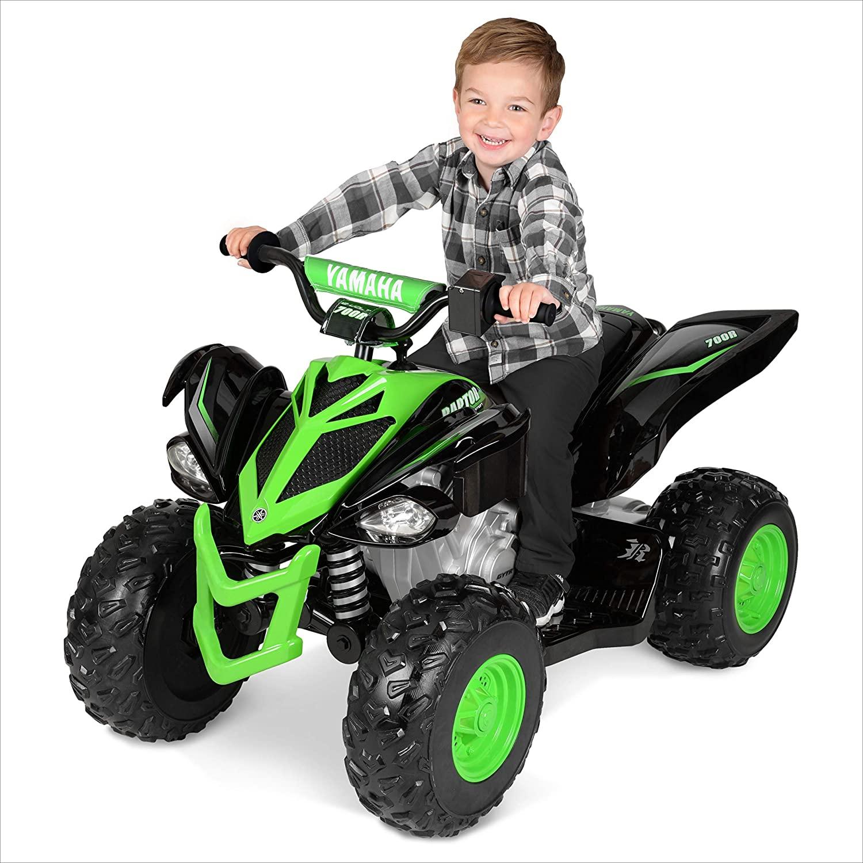 YAMAHA EC-1708 Raptor ATV 12-Volt Battery-Powered Ride-On