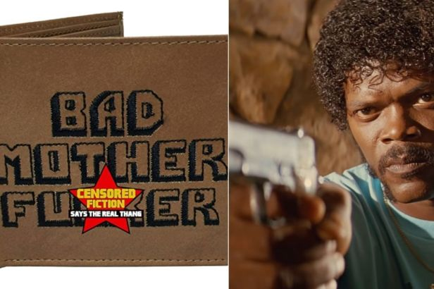 "Pulp Fiction's ""BMF"" Wallet Helps Everyone Be Cool Like Jules Winnfield"