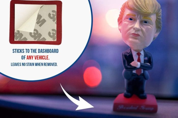 This Donald Trump Car Bobblehead Is the Perfect Gag Gift for Truckers