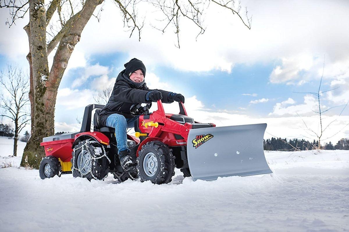kids snow plow