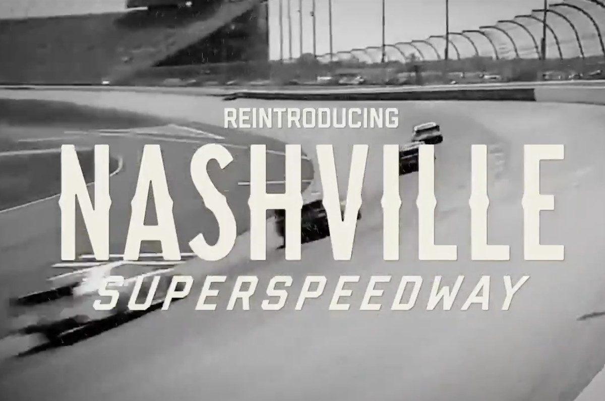 nashville superspeedway rebranding video