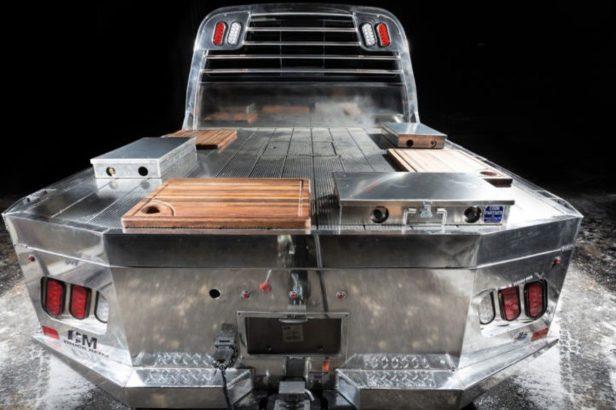 Custom Nissan Smokin' Titan Is the Ultimate Way to Tailgate