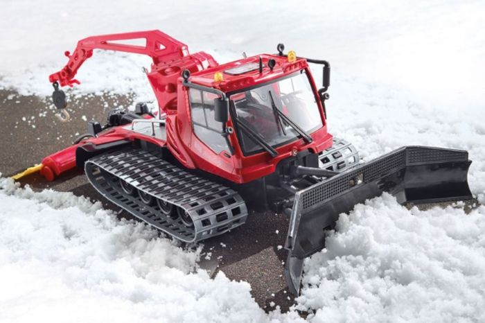 RC Snow Plow Trucks Will Keep Kids Busy All Winter Long