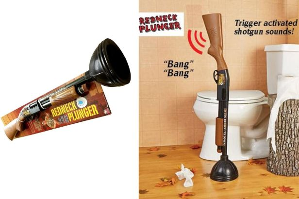 Redneck Plunger: The Perfect Plunger for the Outdoorsman