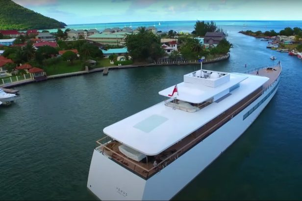 Steve Jobs Never Got to Sail in His $120 Million Superyacht