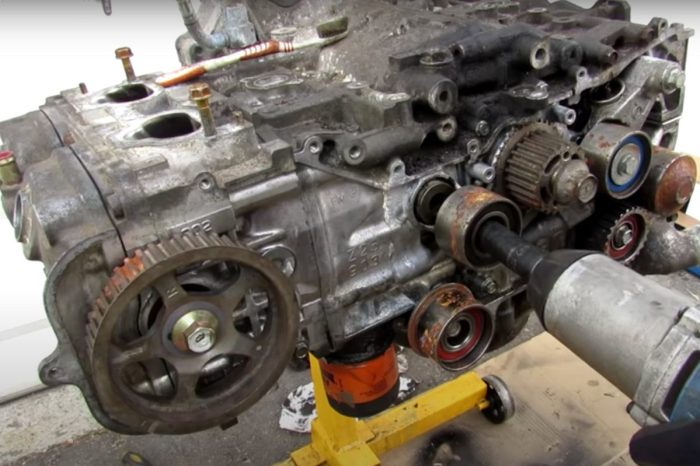 Auto Repair Pro Shows Common Failure Points in Subaru Engines