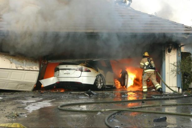 Safety Agency Claims Electric Vehicle Fires Pose Risks to First Responders
