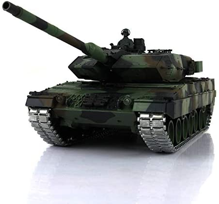 Henglong 1/16 Scale 6.0 Version Upgraded Metal Ver German Leopard2A6 RTR RC Tank 3889