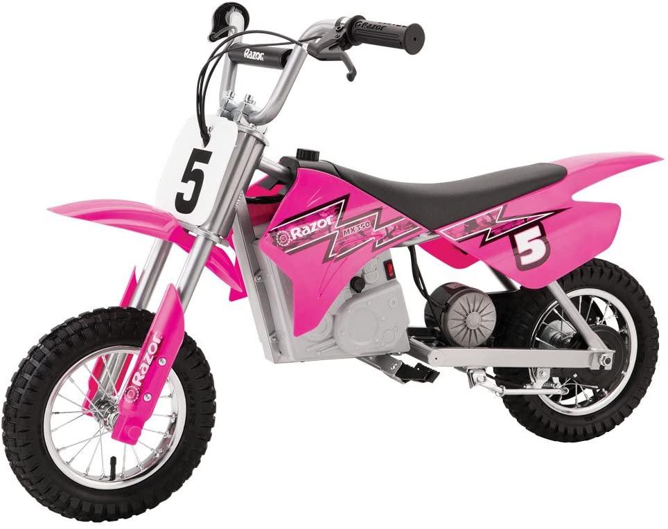 Razor MX350 Dirt Rocket Electric Motocross Bike - Pink