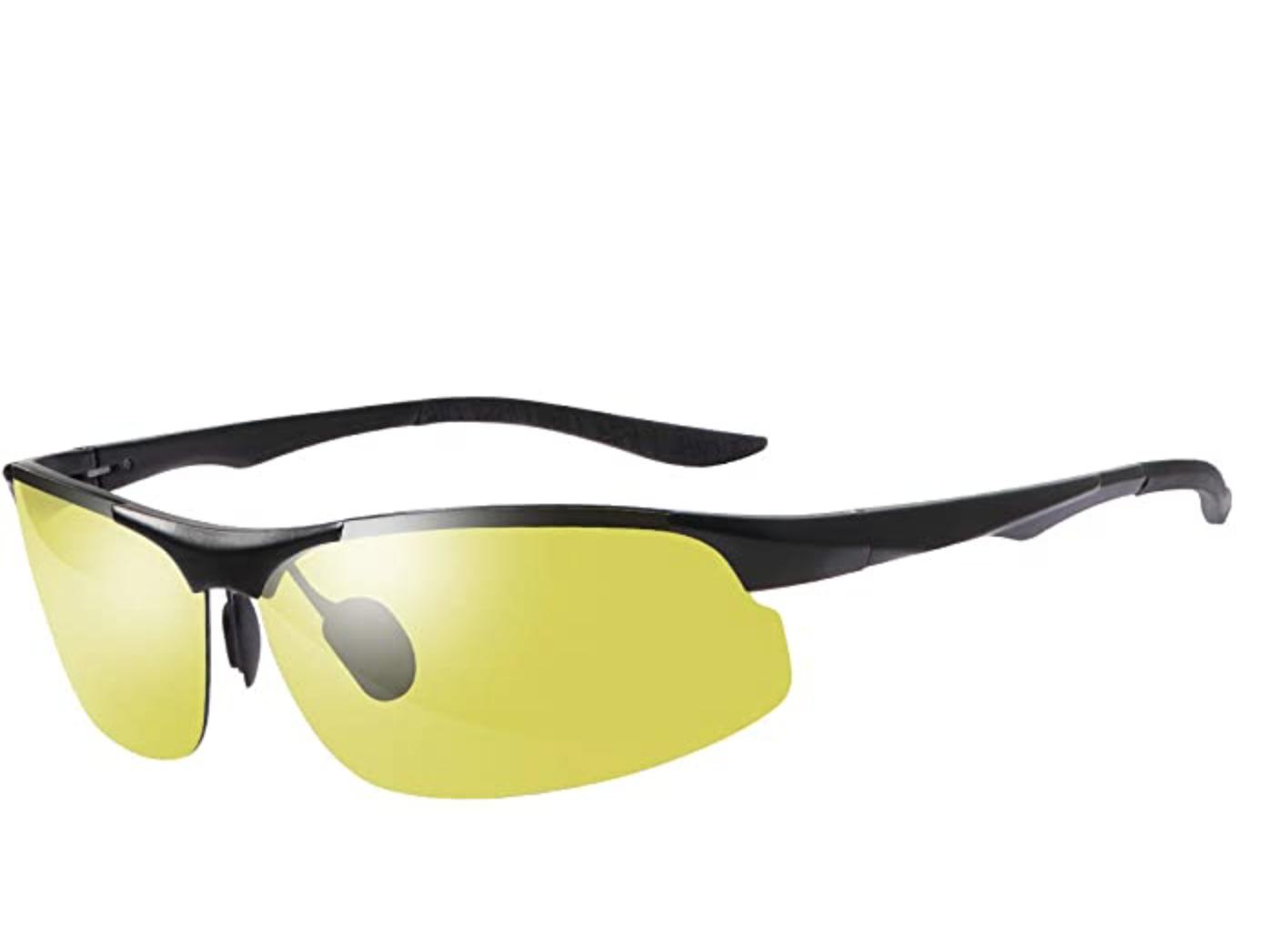 Polarized Photochromic Outdoor Sports Driving Sunglasses for Men Women AntiGlare Eyewear Ultra-Light Sun Glasses