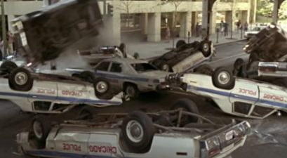 cop chase scene blues brothers