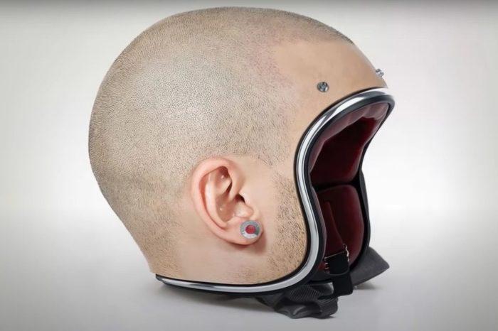 These Freakishly Realistic Motorcycle Helmets Look Like Human Heads