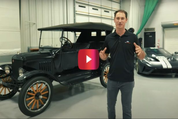 Joey Logano's Ford Collection Includes a '24 Model T and Rare Ford GT