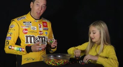 kyle busch skittles counting