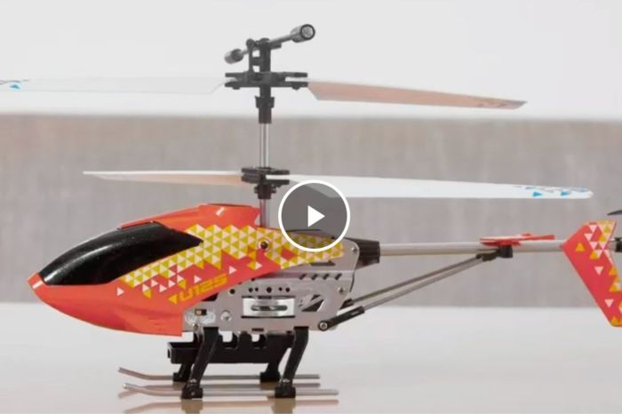$45 Indoor RC Helicopter Is the Coolest Boredom Buster for Kids