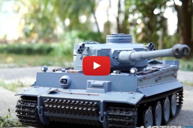 Battle With Top-Rated RC Tanks and Leave the Army Men Inside