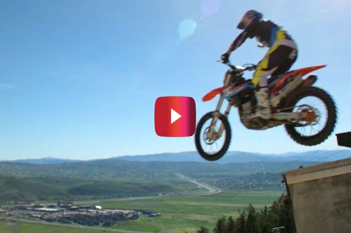 robbie maddison ski jump