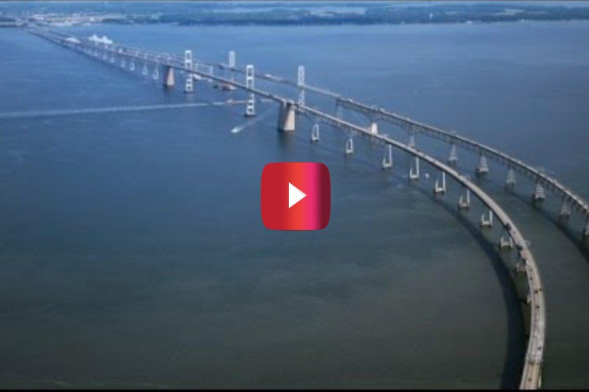 The Chesapeake Bay Bridge scariest bridge in america