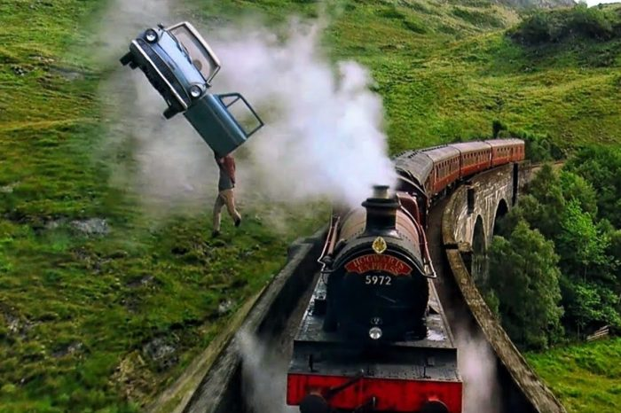 """The Magical History of the Flying Car From """"Harry Potter"""""""