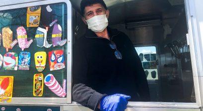 ice cream truck driver