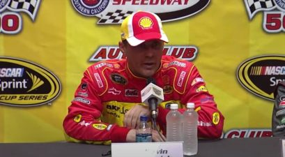 kevin harvick golden horseshoe interview