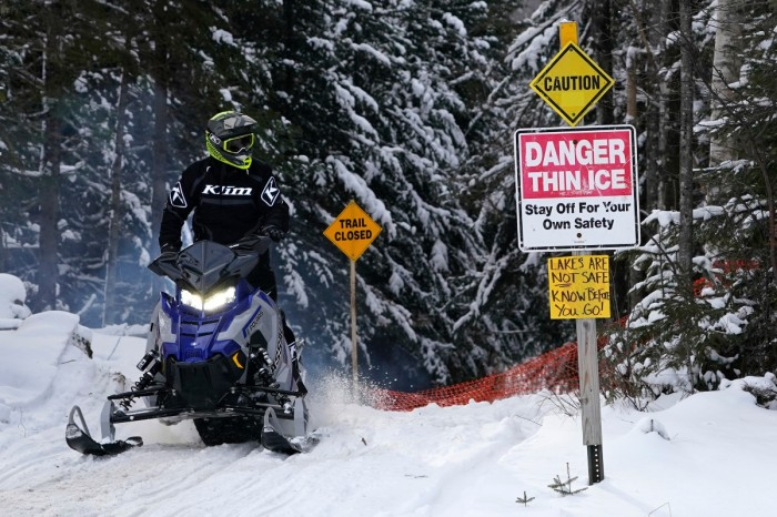 The Snowmobiling Industry Is Seeing Its Biggest Boom in Decades