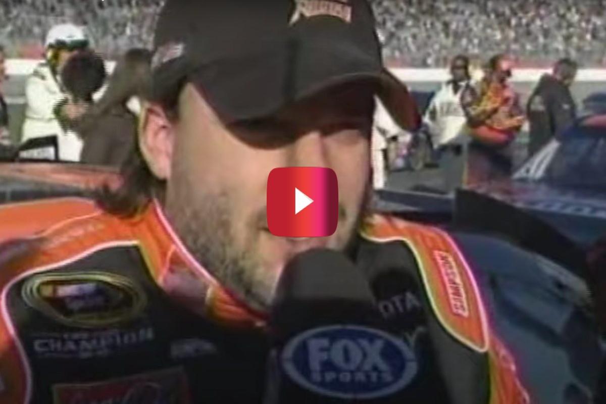 tony stewart goodyear tires interview