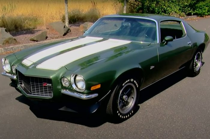 A Brief History of the 1970 Chevy Camaro