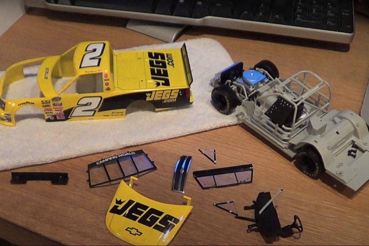 Hobbyist Shows How to Build NASCAR Diecast