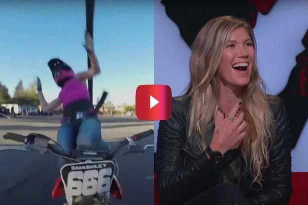 "Jolene Van Vugt, Former Nitro Circus Star, Judges Motocross Fails on ""Ridiculousness"""