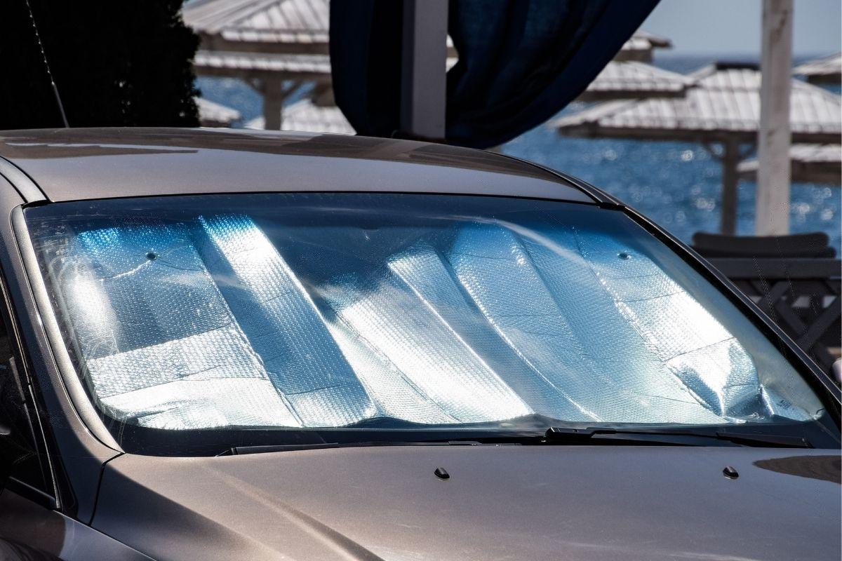 best car windshield sun shade